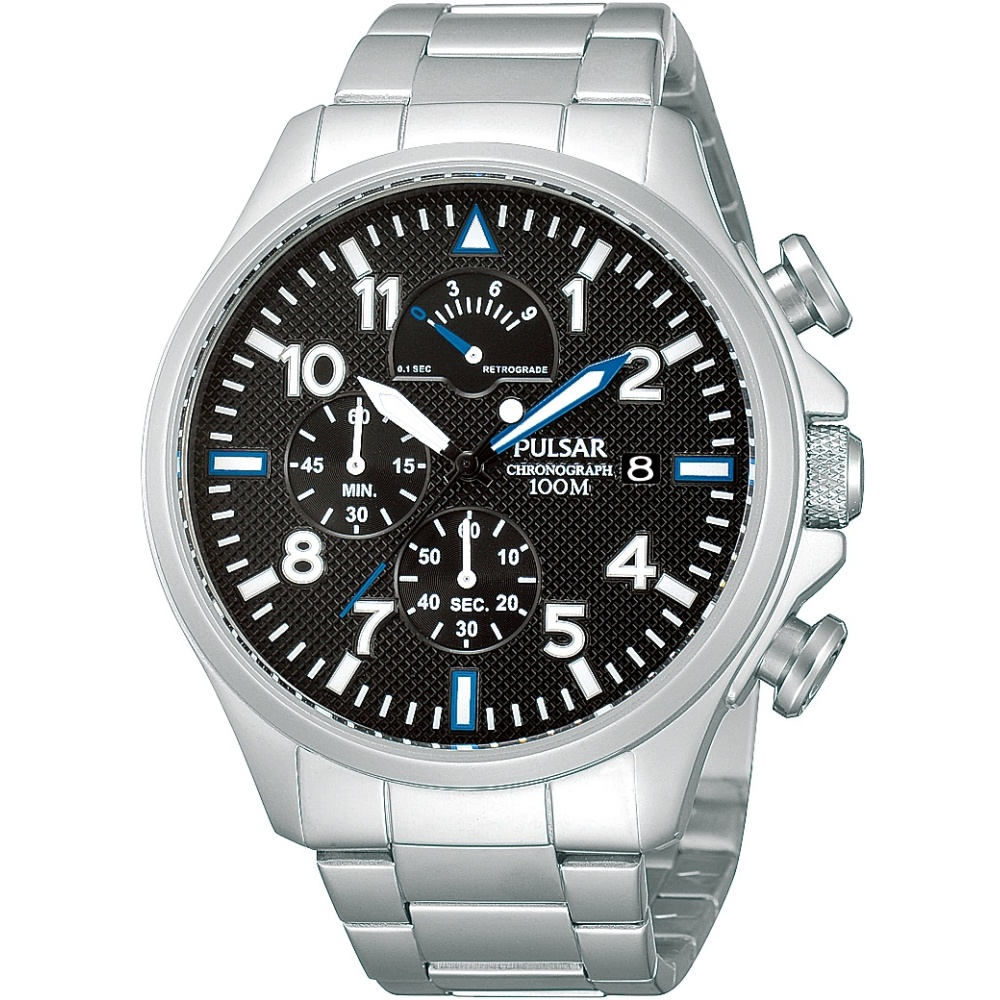 Gents Pulsar Chronograph Watch Ps6049x1 Watchshop