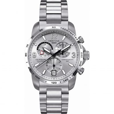 Montre Chronographe Homme Certina DS Podium GMT C0016391103700