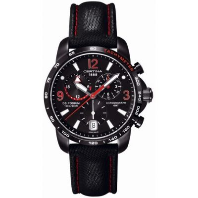 Mens Certina DS Podium GMT Chronograph Watch C0016391605702