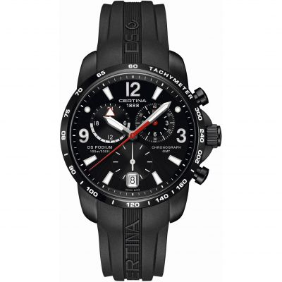 Montre Chronographe Homme Certina DS Podium GMT C0016391705700