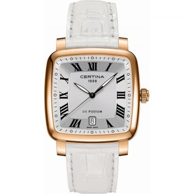 Certina DS Podium Unisex horloge Wit C0255103603300