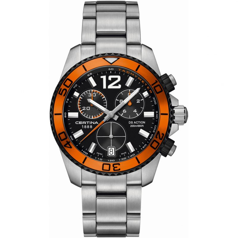 Mens Certina DS Action Chronograph Watch