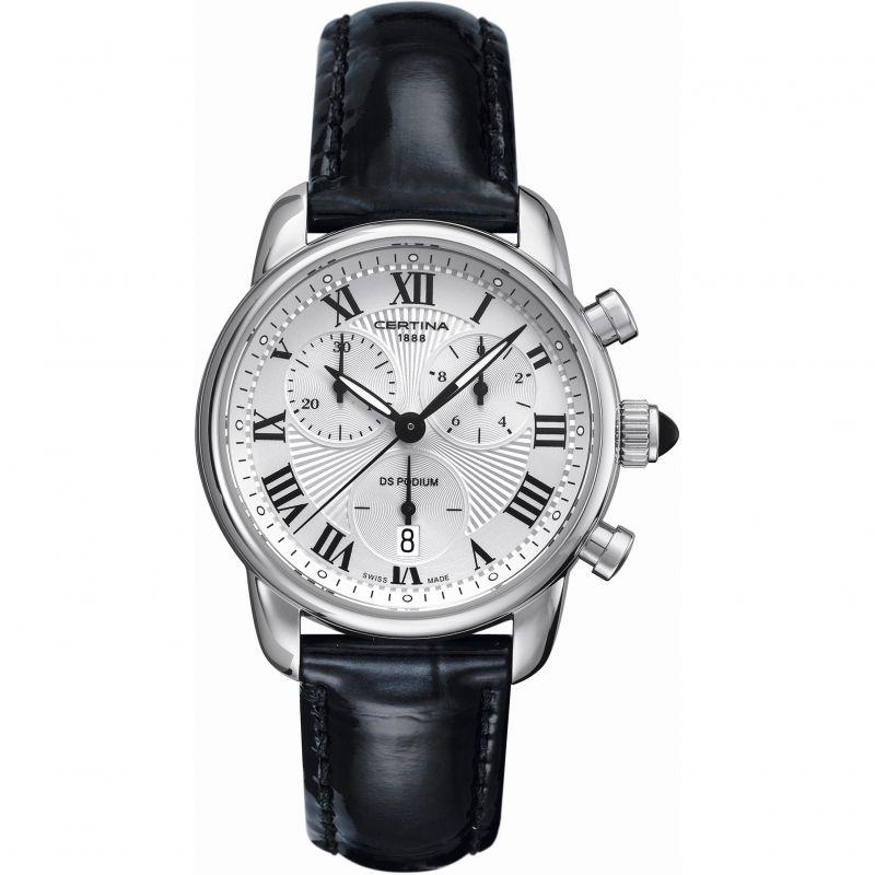 Ladies Certina DS Podium Chronograph Watch