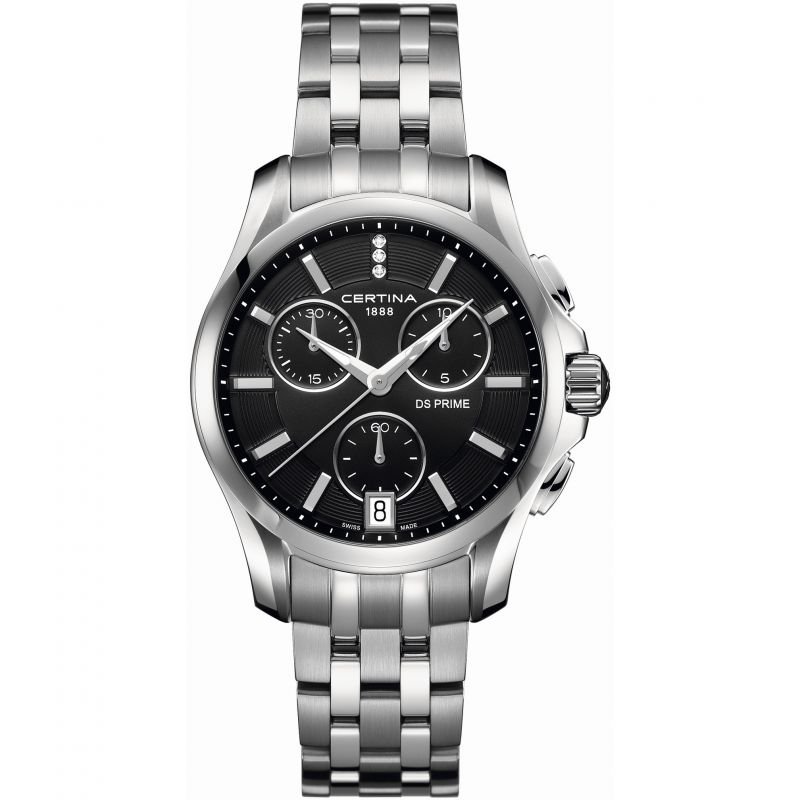 Ladies Certina DS Prime Chronograph Watch