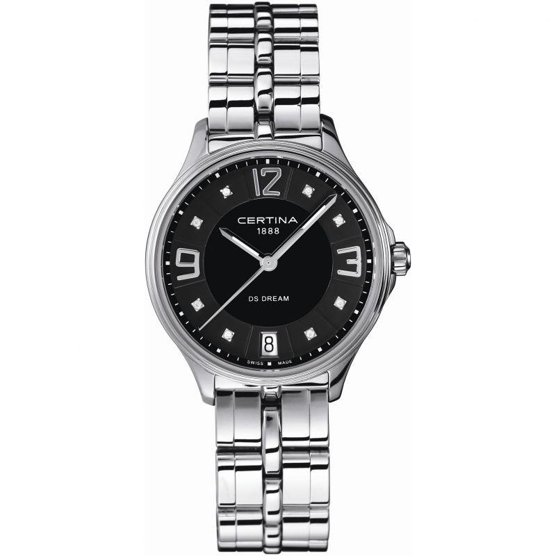 Ladies Certina DS Dream Diamond Watch