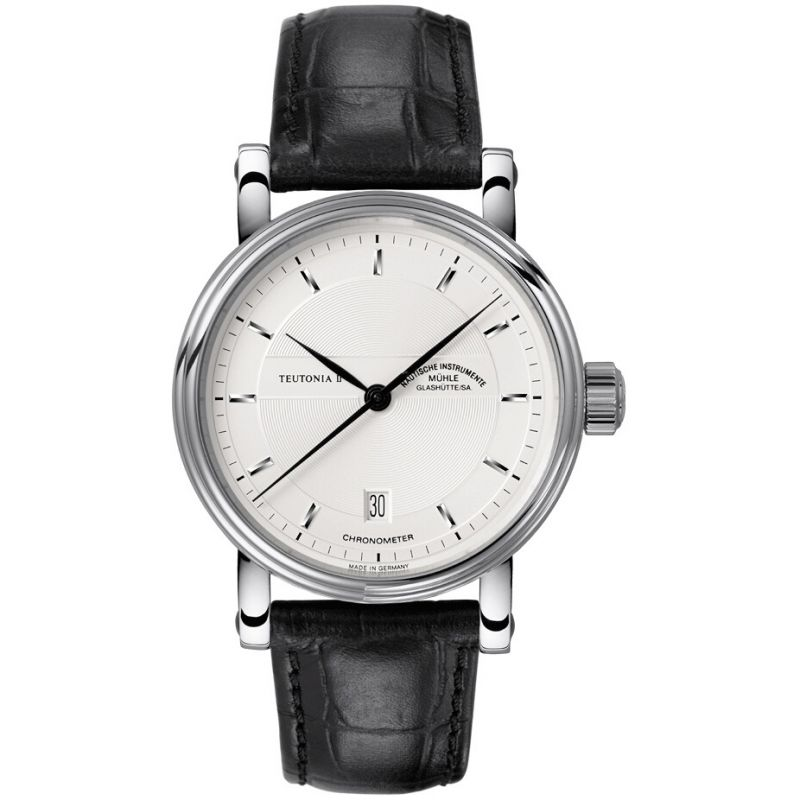 Mens Muhle Glashutte Teutonia II Chronometer Automatic Watch