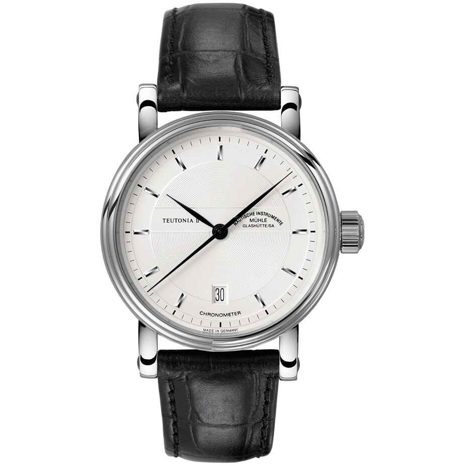Gents Muhle Glashutte Teutonia Ii Chronometer Watch M1 30 45 Lb