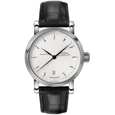 Mens Muhle Glashutte Teutonia II Chronometer Automatic Watch M1-30-45-LB