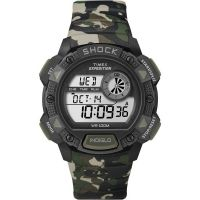 Mens Timex Indiglo Expedition Alarm Chronograph Watch