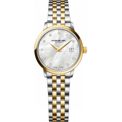 Ladies Raymond Weil Toccata Diamond Watch 5988-STP-97081