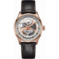 Mens Hamilton Jazzmaster Viewmatic Skeleton Automatic Watch
