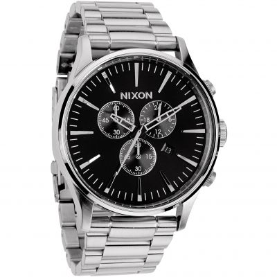 Montre Chronographe Homme Nixon The Sentry Chrono A386-000