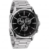 Mens Nixon The Sentry Chrono Chronograph Watch A386-000