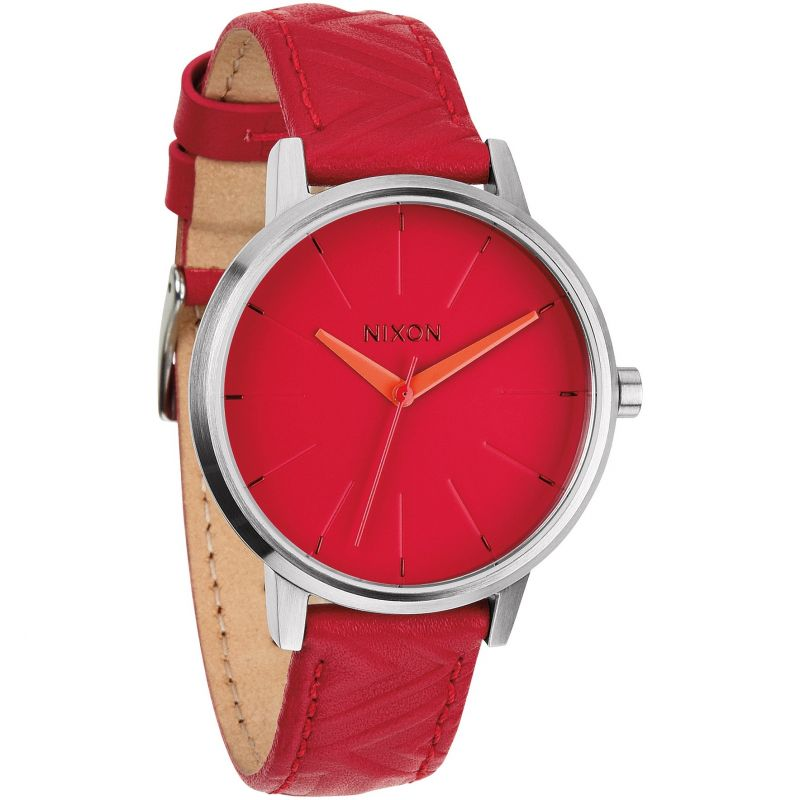 Ladies Nixon The Kensington Leather Watch A108-1744