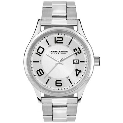 Mens Jorg Gray Signature Watch JGS2570B