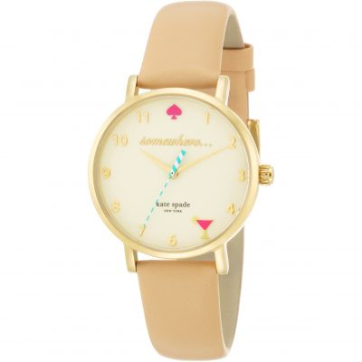 Kate Spade New York Metro Damenuhr in Cremefarben 1YRU0484