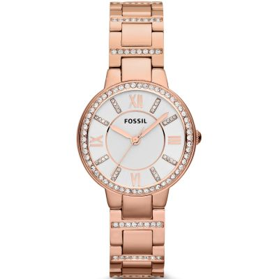 Fossil Virginia Dameshorloge Rose ES3284