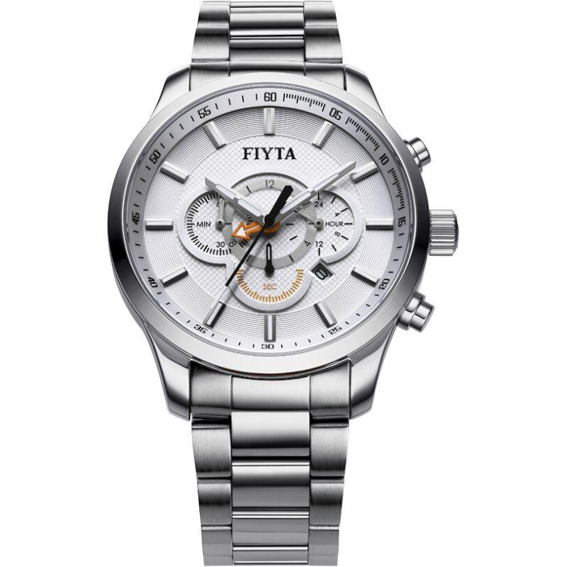 Mens Fiyta Elegance Chronograph Watch