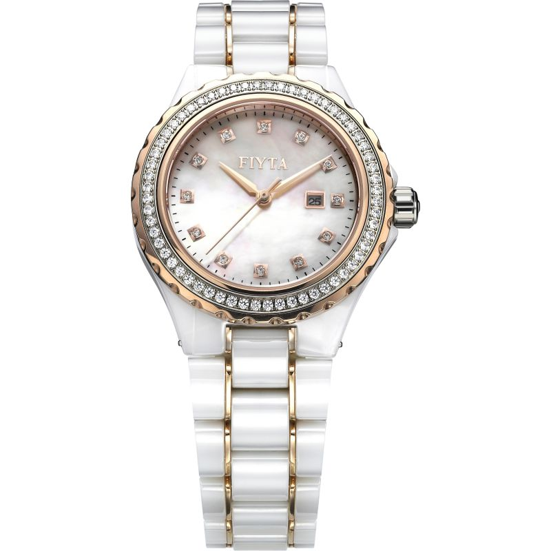 Ladies Fiyta Eternity Ceramic Watch