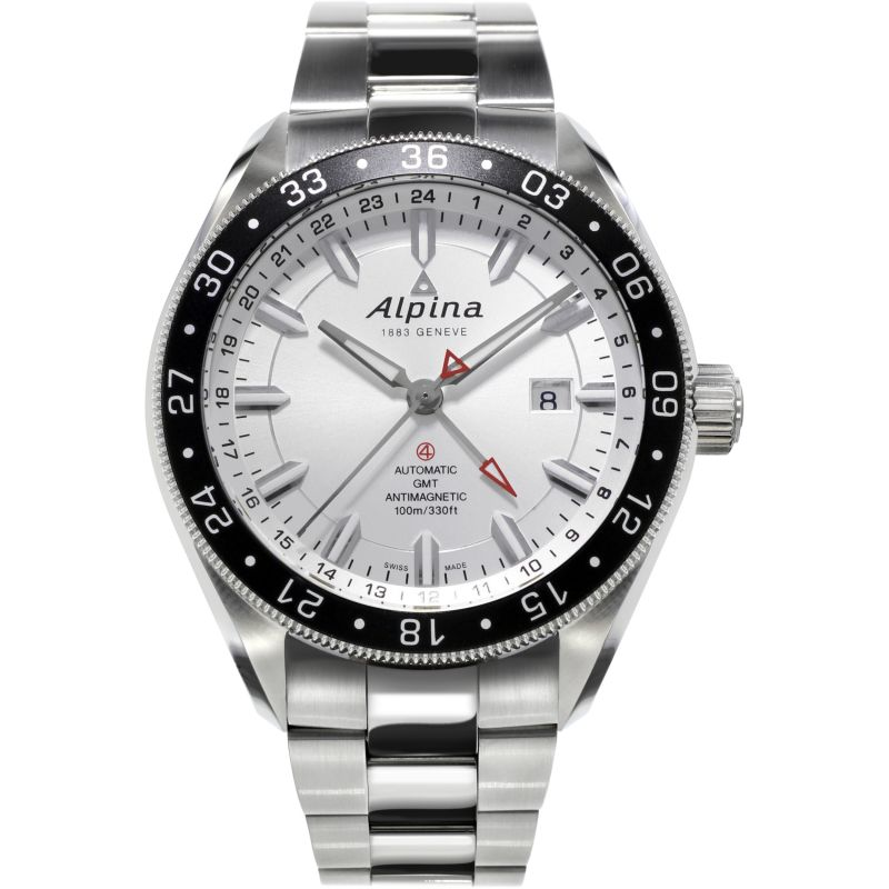 Mens Alpina Alpiner 4 Automatic Watch AL-550S5AQ6B