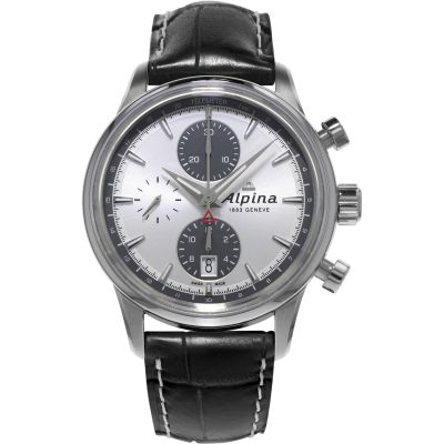 Mens Alpina Alpiner Automatic Chronograph Watch AL-750SG4E6