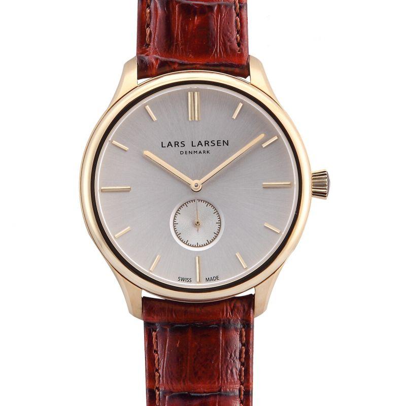 Mens Lars Larsen Simon Gold Watch