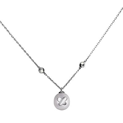 Biżuteria damska Shimla Jewellery Necklace With Butterfly Fresh Water Pearl SH630