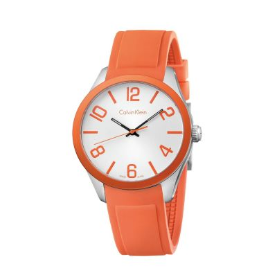 Calvin Klein Colour Unisexklocka Orange K5E51YY6