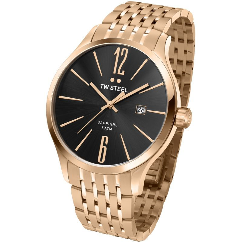 Mens TW Steel Slim 45mm Watch TW1308