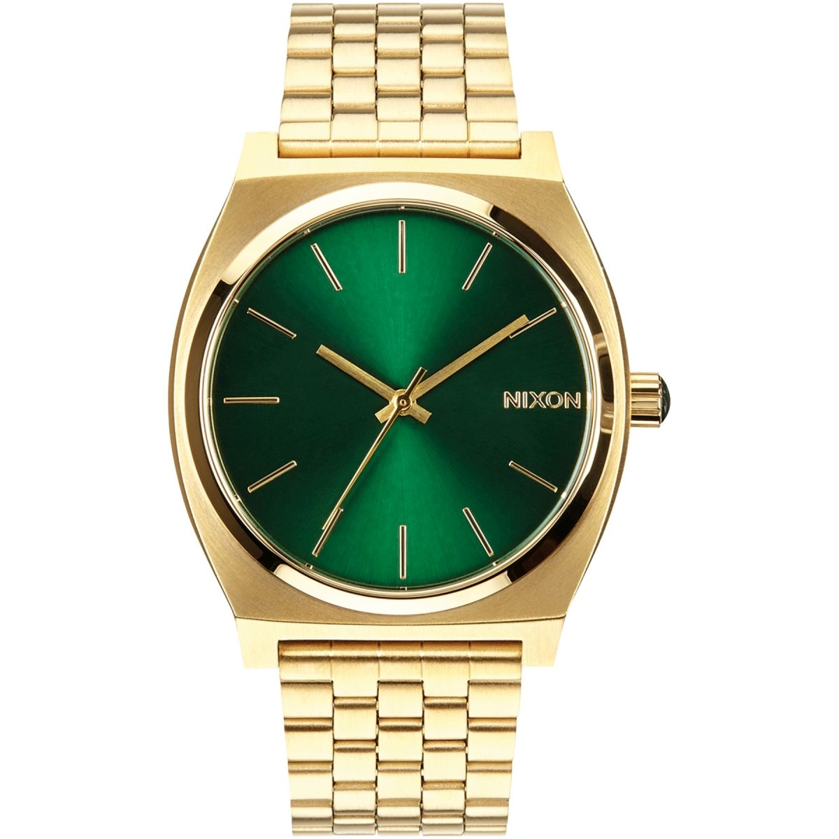 nixon tone dial s goldtone watch watches teller men mens gold time