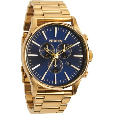 Montre Chronographe Homme Nixon The Sentry Chrono A386-1922