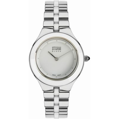 Ladies STORM BLACK Marzella Watch MARZELLA-SILVER