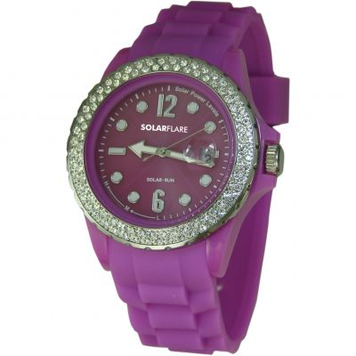 Ladies Lifemax Solar Flare Solar Powered Watch 1362LP