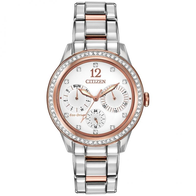 Ladies Citizen Silhouette Crystal Watch