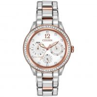 Ladies Citizen Silhouette Crystal Watch FD2016-51A