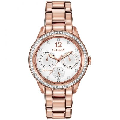 Ladies Citizen Silhouette Crystal Watch FD2013-50A