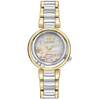 Ladies Citizen L Sunrise Diamond Watch EM0324-58D