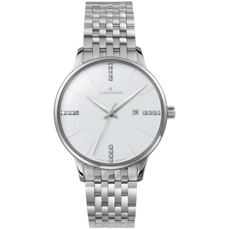 Ladies Junghans Meister Damen Diamond Watch