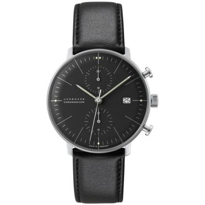Montre Chronographe Homme Junghans Max Bill Chronoscope 027/4601.00