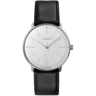 Junghans Max Bill Herrenuhr in Schwarz 027/3501.00
