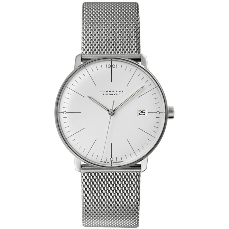 Mens Junghans Max Bill Automatic Watch 027/4002.46