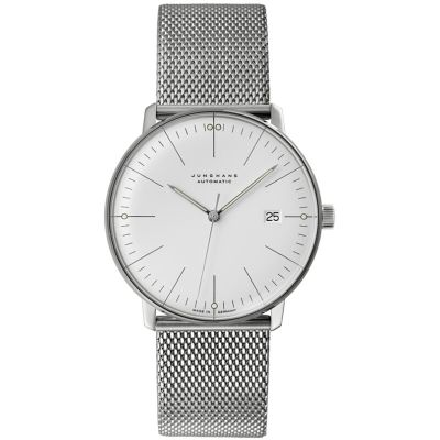 Junghans Max Bill Herrenuhr in Silber 027/4002.44