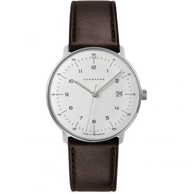 Junghans Max Bill Herrenuhr in Braun 041/4461.00