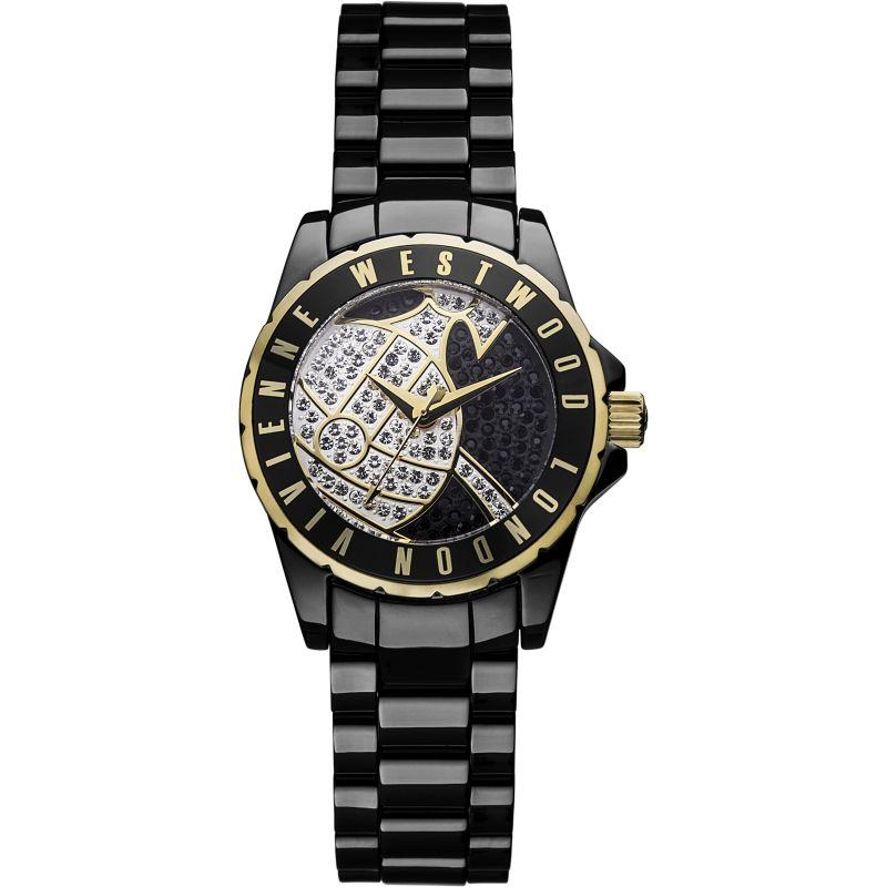 Ladies Vivienne Westwood Sloane Showpiece Ceramic Watch