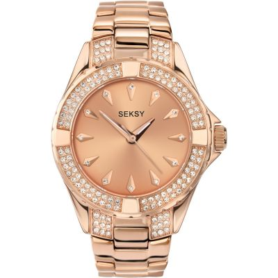 Ladies Seksy Intense Rose Watch 4669