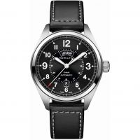 Mens Hamilton Khaki Field Day-Date Automatic Watch H70505733