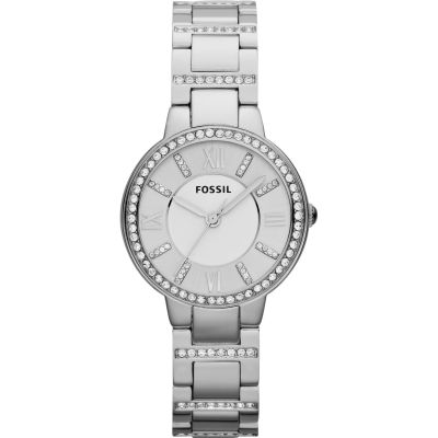 Fossil Virginia Dameshorloge Zilver ES3282