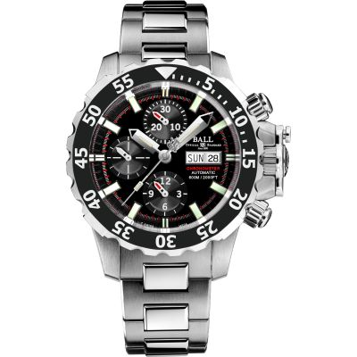 Mens Ball Engineer Hydrocarbon NEDU Chronometer Titanium Automatic Chronograph Watch DC3026A-SC-BK