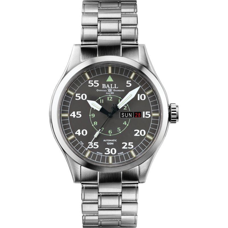 Mens Ball Engineer Master II Aviator Automatic Watch