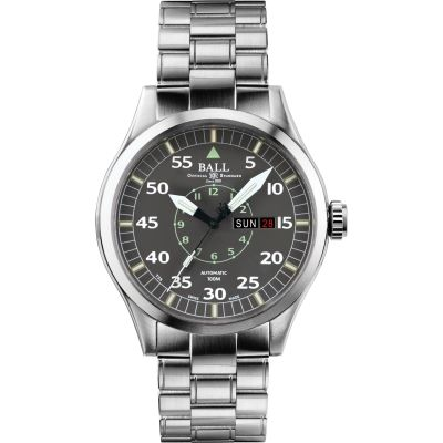 Mens Ball Engineer Master II Aviator Automatic Watch NM1080C-S5J-GY